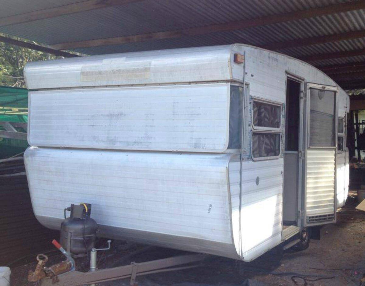 Vintage caravan viscount supreme