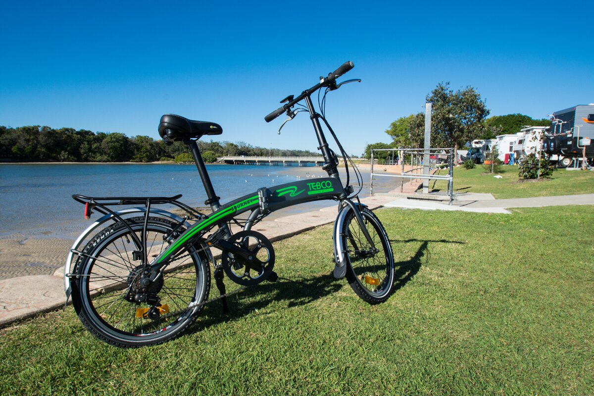 Telco Journey electric folding bike