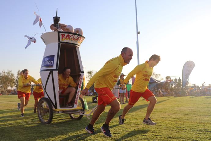 Winton Outback Festival dunny run