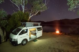 Frontline Hiace Adventurer camper review