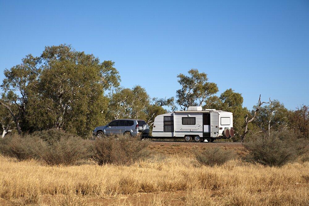 caravan hire australia