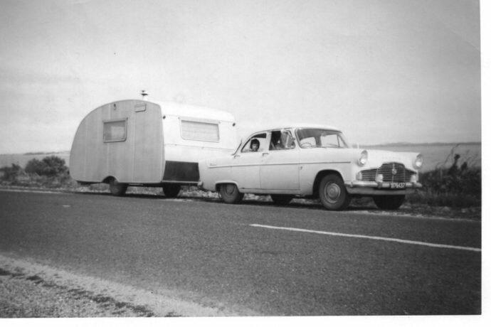 Sundowner vintage caravan