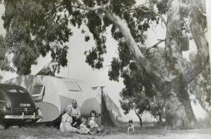 vintage caravan sundowner
