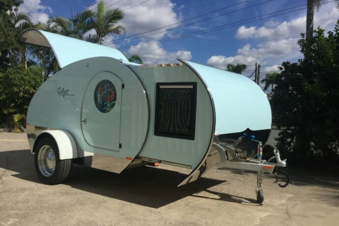 Gidget retro teardrop campers