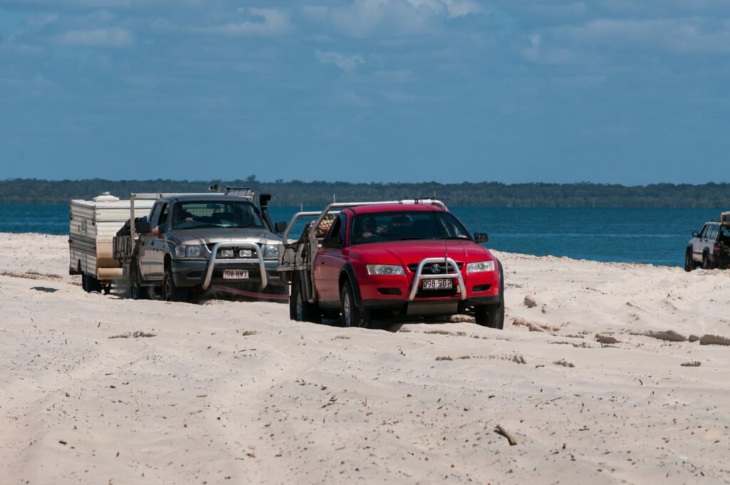 Don't get bogged at Inskip Point