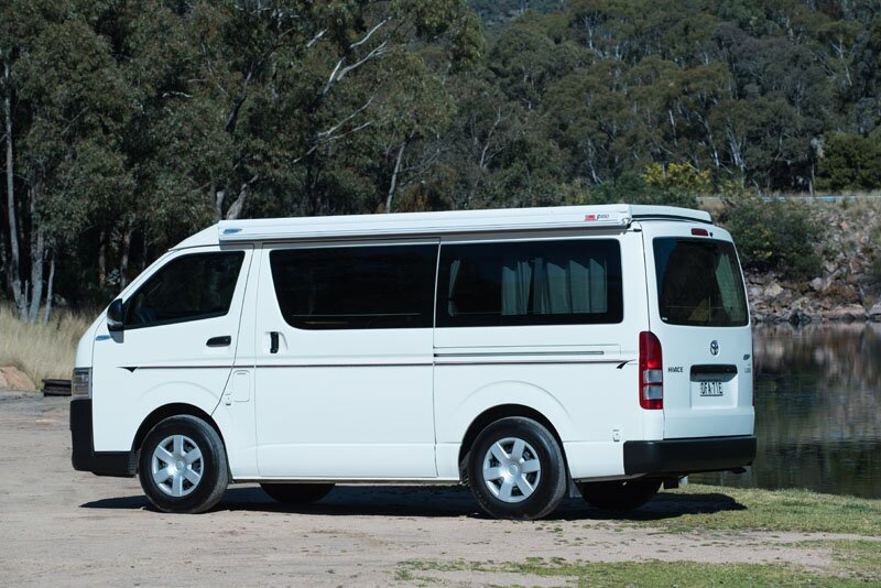 campervan test hiace