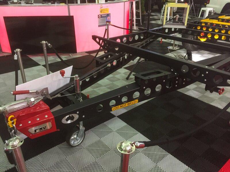 coromal caravan chassis