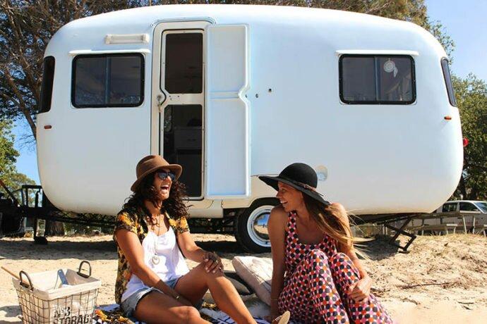 vintage sunliner caravan