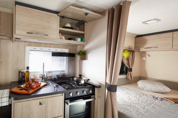 Antares caravan interior