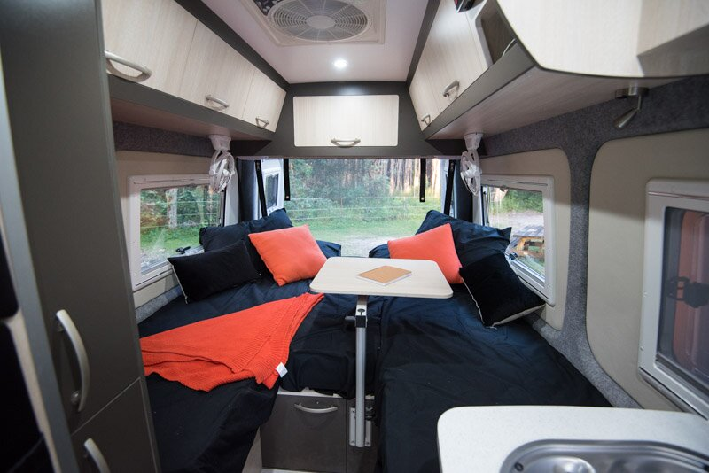 campervan luxury vanlife
