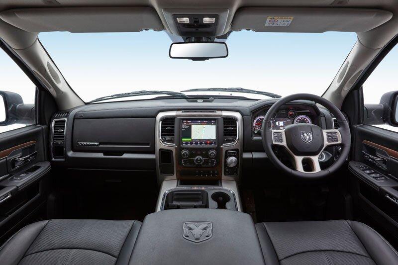 RAM 1500 Laramie interior