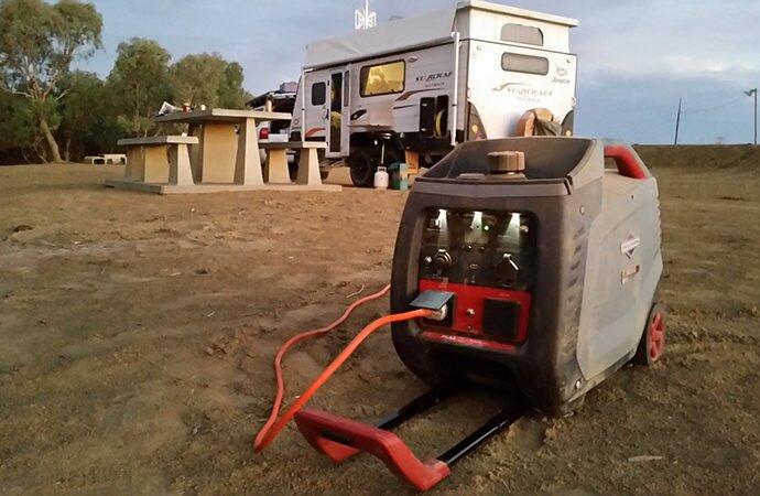 campsite generator usage