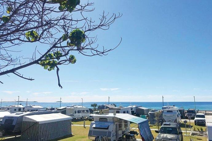 Kingscliff Beach caravan park