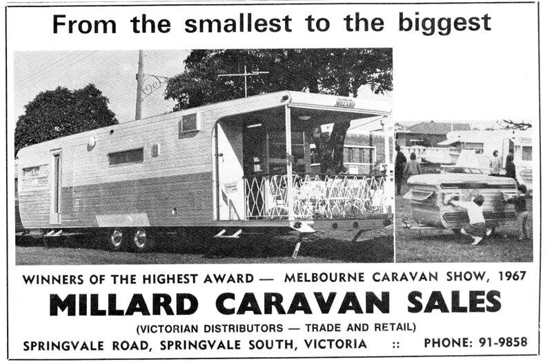 millard caravans history