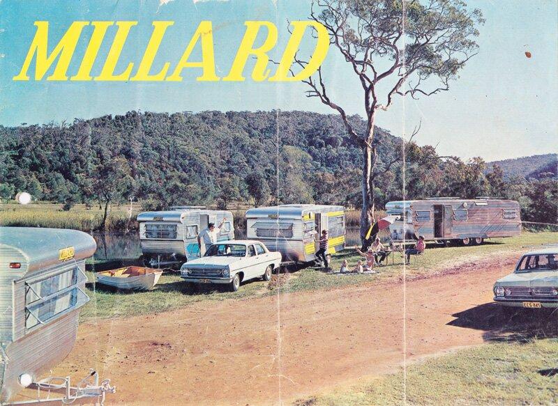 vintage millard caravans history