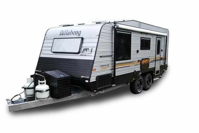 billabong caravans drover