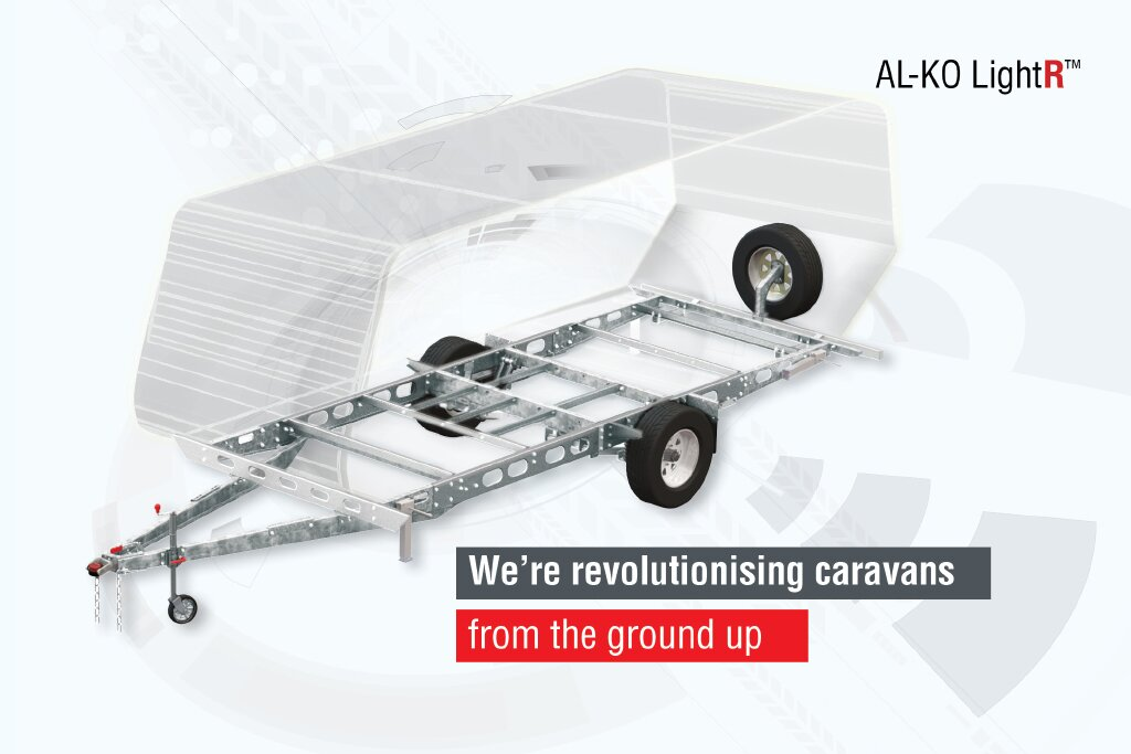 light weight caravan chassis