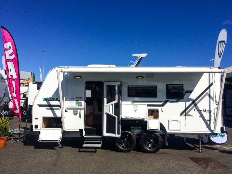 Willow RV Conifer Caravans First Look - Price and Specs - ROAM magazine