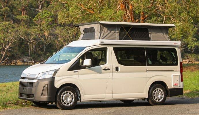 Frontline Hiace campervan review