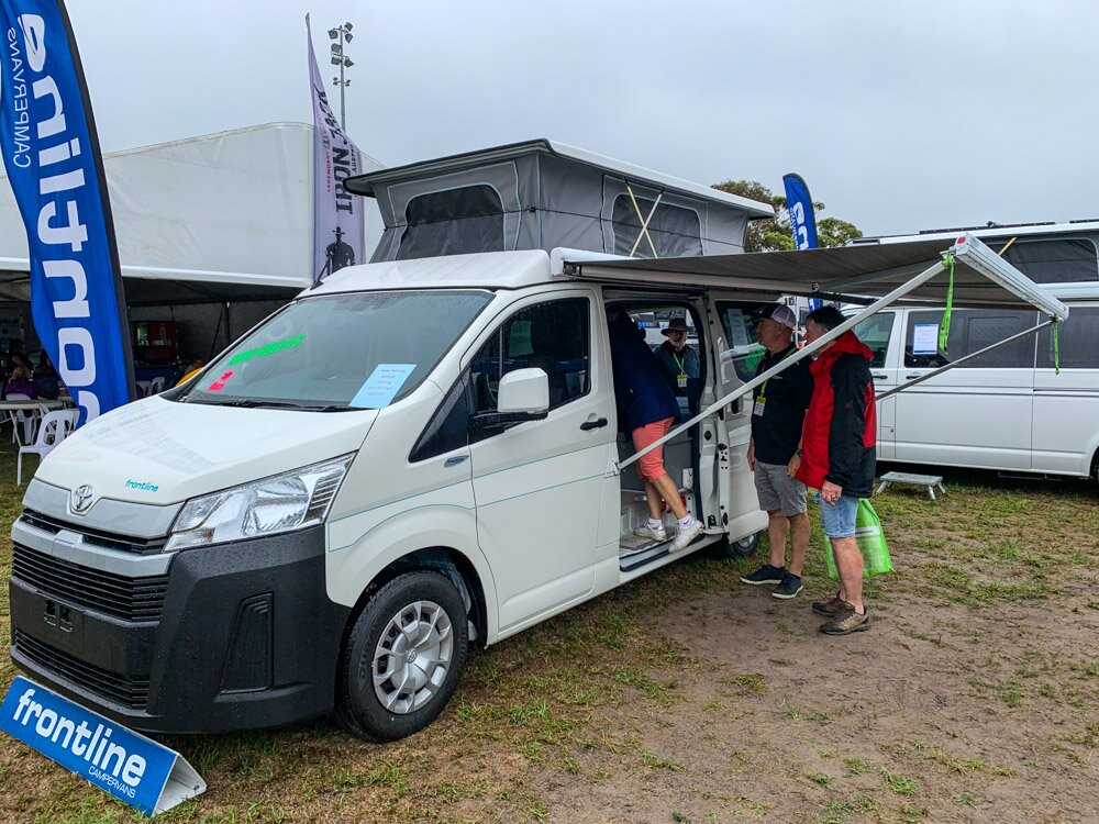 frontline hiace review